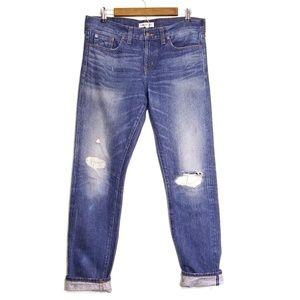 Rivet & Thread Jean's Madewell 28 34x32.5 Selvedge